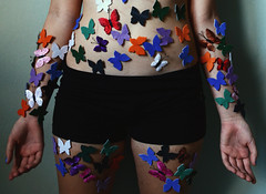 The Butterfly Project (SofiaHiggins) Tags: self project butterfly day cut cutting awareness harm injure inflict
