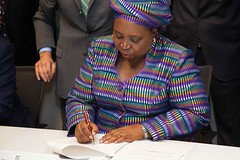 African Union Commission Chair Dr. Dlamini-Zum...