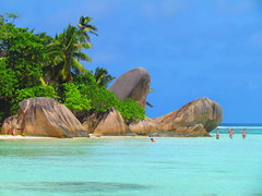 Anse Source d'Argent, La Digue (twiga_swala) Tags: ocean beach silver island spring scenery rocks indian scenic ile insel boulders granite seychelles plage source rochers digue ladigue seychellen anse dargent tropicale torpical tropische
