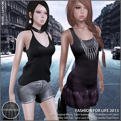 House of London for Fashion for Life (London Dailey) Tags: charity sl secondlife fashionforlife pinkoutfitters houseoflondon