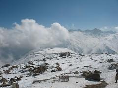 Snow capped mountains (worldofmusica) Tags: kashmir gulmarg jammukashmir kashmirindia kashmirtourism gulmargkashmir flickrforkashmir kashmirsightseeing kashmirtouristspots