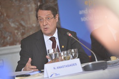 EPP Summit, 14 Mar. 2013 (More pictures and videos: connect@epp.eu) Tags: politics eu epp europeanunion ppe conservatism evp politicalparty 2013 disy europeanpeoplesparty anastasiades christiandemocracy partidopopulareuropeo partipopulaireeuropeen eruropaischevolkspartei