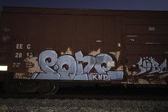 P.One (Revise_D) Tags: art graffiti tagging freight revised pone fr8 railart knd benching sobc fr8heaven fr8aholics