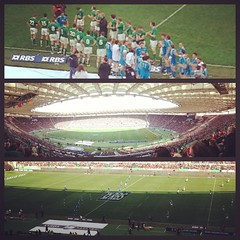 Six Nations (Max_Car) Tags: ireland italy rome sport collage italia rugby sei irlanda palla sixnations nazioni olimpico ovale satadio uploaded:by=flickrmobile flickriosapp:filter=nofilter
