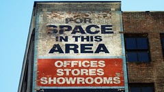 for space in this area (eFB) Tags: newyork wall typography bricks handpainted