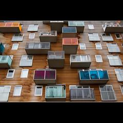 Colorful balconies WoZoCo (dirkjandb) Tags: amsterdam balconies architectuur kleurrijk mvrdv osdorp wozoco balkons oklohoma