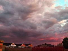 July 11th Stormy Dusk 2012 (saxonfenken) Tags: stormy dusk sunset light grey houses thechallengefactory pregamewinner urban challengewinner challengeyouwinner bigmomma storybook 9997house9997 challengegamewinner