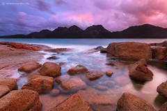 The Adventurer (SoniaMphotography) Tags: park travel sunset seascape storm rain adventure national tasmania hazards freycinet colesbay