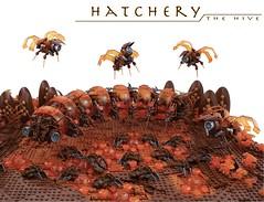 Hatchery (Bart De Dobbelaer) Tags: lego space diorama mocathalon