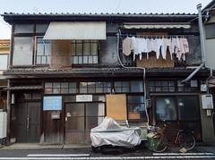 股引の家 [explored] (kasa51) Tags: building japan digital alley olympus omd onomichi f4056 em5 918mm mzuiko あと一歩下がりたかった