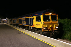 GBRf 66705 & 73967 on 1B16 at Leuchars (Tug60044) Tags: gbrf serco class 66 73 66705 73967 1b16 aberdeen edinburgh leuchars london euston caledonian sleeper gbrailfreight