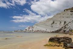 Falesia (Salvo Marturana) Tags: italy italia mare porto scala sicily falesia spiaggia dei sicilia paesaggio agrigento turchi realmonte empedocle tamron175 canon550d
