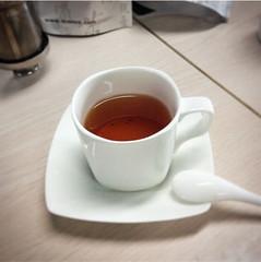 black tea (angelchentea) Tags: tea teavivre mug white drink
