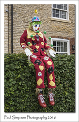 Clown Scarecrow (Paul Simpson Photography) Tags: clown scarecrow appleby northlincolnshire paulsimpsonphotography photoof photosof imagesof imageof party villageevent sonya77 july2016 juggler juggling clownphotos clowingaround