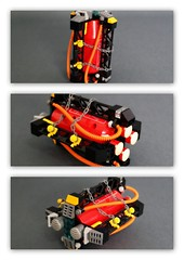 LEGO space miners  silos (peter-ray) Tags: battleship starship brick moc lego space ship warship star trek wars astronave fighter peter ray shi fii shiptember