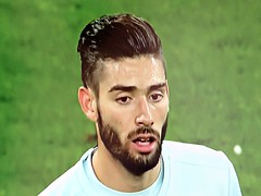 Yannick Carrasco (knightbefore_99) Tags: euro 2016 football futbol game match beautiful tv screenshot cool team country player belgium yannick carrasco atletico madrid