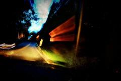 Bump!! (Captain Creepy) Tags: driving car bumpsign road fast blur