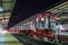 Midnight MUs (Nick Gagliardi) Tags: train trains railroad njt new jersey transit hoboken terminal electric arrow iii mu multiple unit