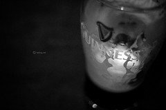 Guinness (fabiog86) Tags: ireland eire irlanda dublino travel viaggio guinness beer stout glass bw blackwhite bokeh blurred focus canon 50mm canoneos60d fabiog