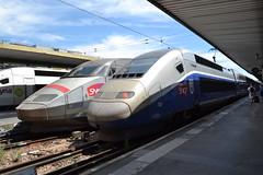 SNCF TGV 4503 (380006) & Duplex Dasye 716 (29732) (Will Swain) Tags: paris gare de lyon 18th july 2016 train trains rail railway railways transport travel vehicle vehicles europe france french voyage capital city centre parisien ile ledefrance le socit nationale des chemins fer franais  grande vitesse sncf tgv 4503 380006 duplex dasye 716 29732