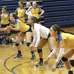 LHS Varsity Volleyball scrimmage v WK, RB, Hillcrest, & Nations Ford, 8-13-2016