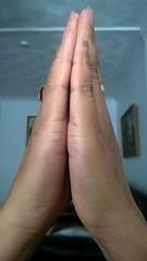 Hindu praying with folded hands (ShaluSharmaBihar) Tags: prayer praying hindu hinduism god beliefs belief faith