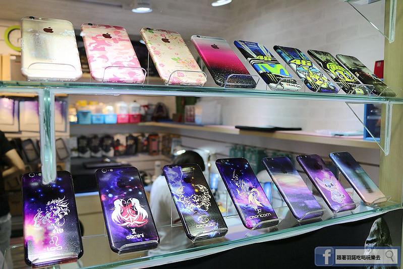 愛包膜-西門新宿精準保護貼鋼化玻璃專業手機包膜063