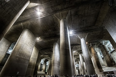 Underground Temple -  (uemii2010) Tags:  cooljapan japan saitama underground concrete lights canoneos7d canonefs1022mm