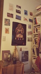 Bedroom (LauraSorrells) Tags: buddha art home card funkiness contemplative whimsy paperlamp