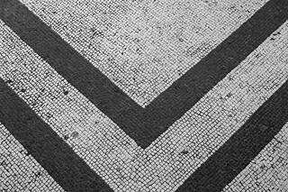 Roman Tiles Floor Villa Adriana Italy