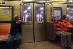 New York Subway (juliekrugerart) Tags: trail girl julie kruger photography new york manhattan motion hustle bustle nikon d810 metropolitan museum brooklyn bridge grand central station taxis world trade center subway