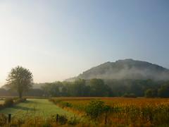 Sauertal bei Diekirch (Jrg Paul Kaspari) Tags: luxembourg land sauer sauertal nebel mist fog morgennebel landschaft landsape hgel berg mountain diekirch