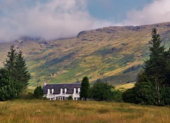 Corriearklet (brightondj - getting the most from a cheap compact) Tags: inversnaid trossachs scotland thirdwalk home firs cottage mountain corriearklet summer2016 holiday summerholiday uk britain ukholiday