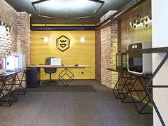 Showroom Plovdiv (B2N Studio) Tags: 3dprinting showroom plovdiv