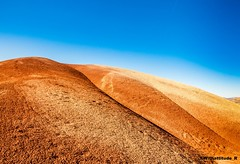 Standing Tall (Withattitude_R) Tags: hills nature landscape sky blue rocks dirt brown summer paintedhills