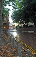 Princes Street (i_gallagher) Tags: idg 2016 princesstreet norwich cathedralquarter cobbles setts stone beech