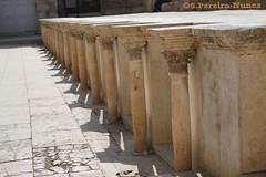 Roman Amphiteather Columns, The Citadel, Amman, Jordan (ssspnnn) Tags: romanempire amphiteater anfiteatro ruins ruinas citadel imperioromano teatro snunes spnunes nunes spereiranunes canoneos70d