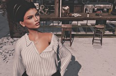 Running late! But you're worth it... (V ♪) Tags: ad analogdog catwa ikon amala slink slinkhourglass izzies nyu vanityposes secondlife blithesim slevents fameshed newrelease meshhead meshfashion secondlifeblog virtualworld 3d