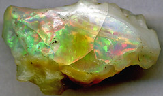 Precious opal (Shewa Province, Ethiopia) 1 (James St. John) Tags: precious opal mineral minerals silicate silicates tertiary ignimbrite volcanic tuff ethiopia shewa shoa