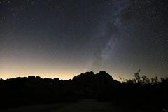 Milky Way over the Rocks (Chuck Hood - PhotosbyMCH) Tags: photosbymch landscape nightscape nightsky milkyway astrophotography mountains keysranch joshuatreenationalpark california usa canon 5dmkiii 2016 nationalpark nature glow skyglow outdoors longexposure