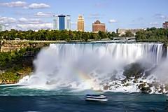 American Falls with Rainbow (Billy K. Chen) Tags: canada ontario niagara niagarafalls waterfall landmark longexposure slowshutter nature naturephotography rainbow