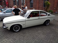 Opel Kadett C Coupe (911gt2rs) Tags: treffen meeting show event tuning tief low stance oldschool berlina weis white ats felgen wheels sternfelgen 13 zoll