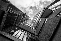 Lines and a tilt :) (Neo7Geo) Tags: lines tilt glasgow scotland sonya6000 sony ricorodriguez neo7geo buildings brutalist uk abstract