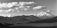 Denali and Mather Peaks, Denali National Park (cobbu2) Tags: bronica etr 75mm f28 mc zenzanon kodak 320txp txp