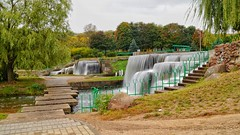 Waterfall in Minsk, Blr (maksimmazurenka) Tags: minsk belarus waterfall