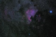 North America Nebula Revisited (skypointer2000) Tags: astronomy astrophotography astro northamericanebula ngc7000 nebula night canon ef70200f28lisusm astromodified canoneos6d deepsky ioptron skytracker longexposure astrometrydotnet:id=nova1741963 astrometrydotnet:status=solved