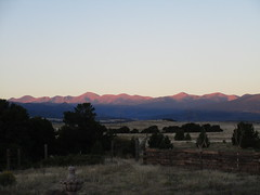 Morning Has Broken (jaygannett) Tags: colorado huerfanocounty ranch dawn sunrise spanishpeaks sangredecristos
