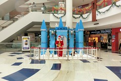 Ascendas Park Square Mall at Christmas (ShambLady is travelling wants to, but cant keep up) Tags: road park christmas xmas blue india cinema man shop azul mall shopping weihnachten square navidad theater blauw theatre bangalore decoration cinemas noel it bleu entertainment s