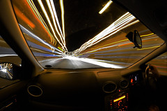 Light speed   (Explore) (Kriegaffe 9) Tags: light car speed nikon zoom explore lighttrails d600