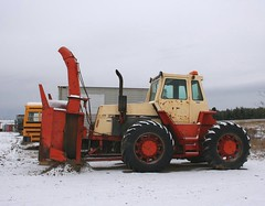 Case 470  (1) (PLEIN CIEL) Tags: case snowblower snowremoval chasseneige case470 souffleusedeneige